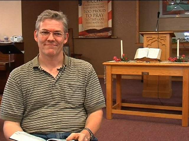 Pastor Curtis Knapp of the New Hope Baptist Church, says gays
