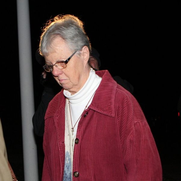 Sister Mary Anne Rapp, 68, pleaded guilty on Monday to grand larceny for stealing about $128,000 from two churches