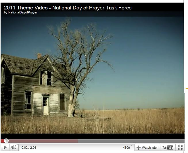 2011 Theme Video - National Day of Prayer Task Force